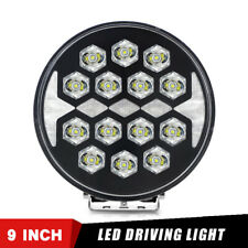 2x 10W Spot LED Offroad Work Lamp DRL Driving Light with White Angle Eye 4X4 4WD