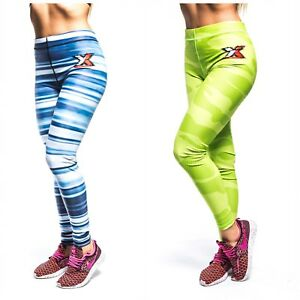 599b18b1b1fc7 Women Yoga Pants Ladies Fitness Leggings Running Gym Exercise Sports ...