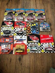 Nascar-Die-Cast-1-64-Cars-Mixed-Lot-Of-12-LOT-1-Earnhardt-Elliott-Allison