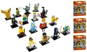 16 LEGO MINI FIGURINE SERIE 15 LOT COMPLET MINIFIGURES 71011