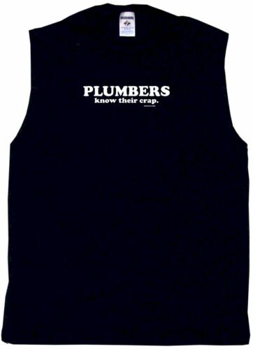 Plumbers Know Their Crap Mens Tee Shirt Pick Size /& Color Small 6XL
