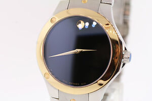 12c177272db Men s Movado 0605910 SPORTS EDITION SE Two-Tone Stainless Steel ...
