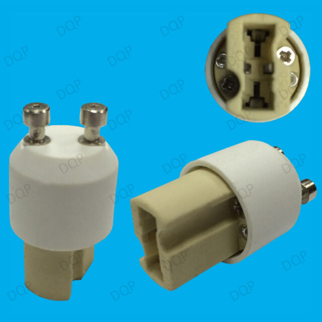 Gu10 To G9 Keramik Glühbirne Steckdose Lampe Adapter Konverter Halter V2