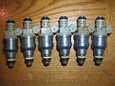 6 FRESH OEM FORD V6 INJECTORS 2YR WARRANTY CAR & TRUCK 4.9 3.8 3.0