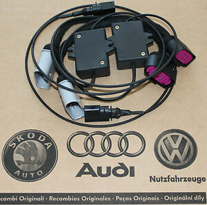 image is loading audi-q7-adapter-harness-xenon-facelift-headlights-led-