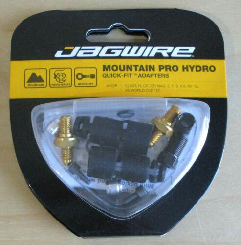 New Jagwire Mountain Pro Disc Brake Hydraulic Hose Quick-Fit Adapter SRAM Avid