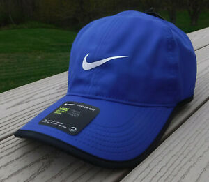 78fe6bd3b7 NWT NIKE Dri-Fit Featherlight Adult Adj Tennis/Running Hat-OSFM ...