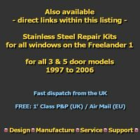 Rear Window Regulator Mechanism Repair Kit. (Electric Motor, Manual) Cable Wire
