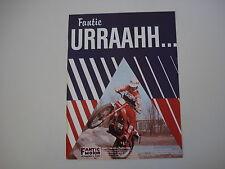 advertising Pubblicità 1981 MOTO FANTIC TRIAL 200 PROFESSIONAL