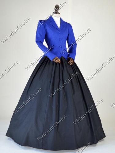 Victorian Dresses | Victorian Ballgowns | Victorian Clothing    Victorian Edwardian Downton Abbey Vintage Suit Dress Riding Habit Theatre N 166 $129.00 AT vintagedancer.com