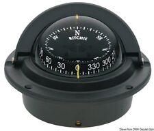 Boussole Ritchie Voyager 3 encastrable noire/Noire Marque navigation 25.082