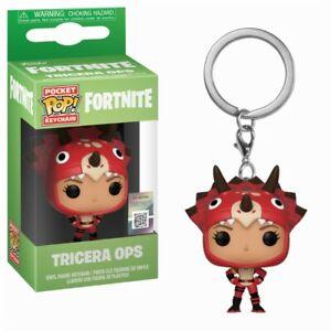 Fortnite Battle Royale Tricera Ops Pocket Pop! Keychain Porte Clés Funko-ger Funko Fr-fr Afficher Le Titre D'origine Une Grande VariéTé De Marchandises