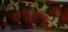 Honey and Me Griffen Pumpkin Fall Medley 17 x 4 Cotton Blend Metal Harvest Figurine