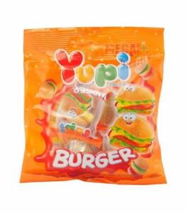 Yupi-Burger-Snack-Candy-Candies-Sweet-Jelly-Gummy-Mixed-Fruit-Flavour-32g