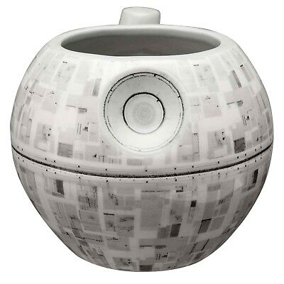 Star Wars Death Star Mug - 3D Sculpted Ceramic Coffee Cup - 14 Ounce
