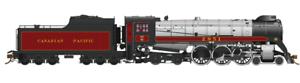 RAPIDO 1 87 HO CANADIAN PACIFIC H1d 4-6-4 HUDSON COAL TENDER 2857 DC   DCC SOUND