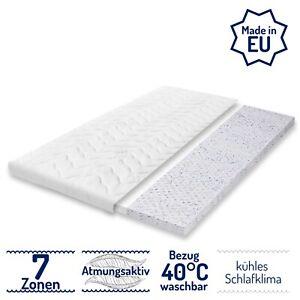 10 cm 7 Zonen TOP Sommer 200 Gel Latex Topper H2 Matratzenauflage Höhe 8