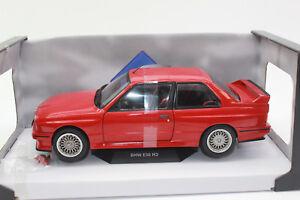 SOLIDO-421184390-BMW-M3-E30-1986-rouge-1-NOUVEAU-18-emballage-d-039-origine