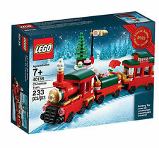 LEGO Christmas Train 40138 Rare Seasonal Christmas Winter Exclusive Holiday 2015