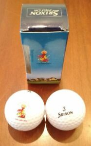 NEW-Set-of-2-Official-Srixon-Pro-UR-Golf-Balls-from-the-2003-British-Open