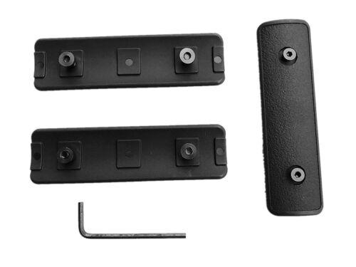 "BS Hunting Pack of 3 pieces Black 4/"" Keymod Rail Panel handguard Cover US SHIP"