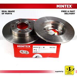 2X-Mintex-frenos-de-disco-trasero-AUDI-80-A4-Coupe-Seat-Exeo-3R2-Exeo-3R5-1-6-1-8-2-0