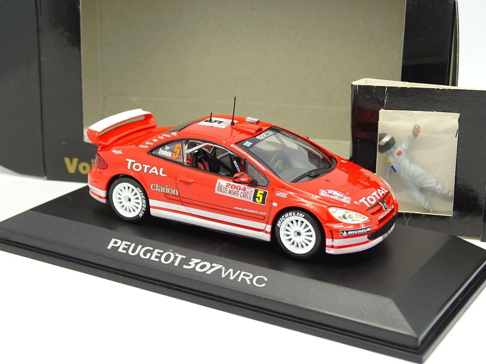 prezzo all'ingrosso Norev CEC CEC CEC 1 43 - Peugeot 307 WRC Rtuttiy Monte autolo 2004 + Personaggio  migliori prezzi e stili più freschi
