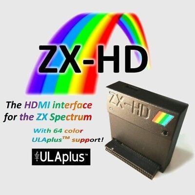 Aufrichtig Zx-hd Hdmi Interface Für Zx Spectrum 16k, 48k, 48k+, 128k, +2, +2a, +2b, +3, Neu SchöN In Farbe