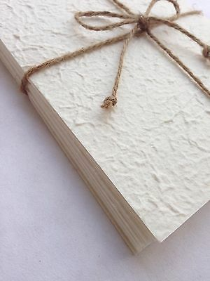 A5 White 100 Sheets of Handmade Mulberry Paper - Tear Bear, Cards, Invitations