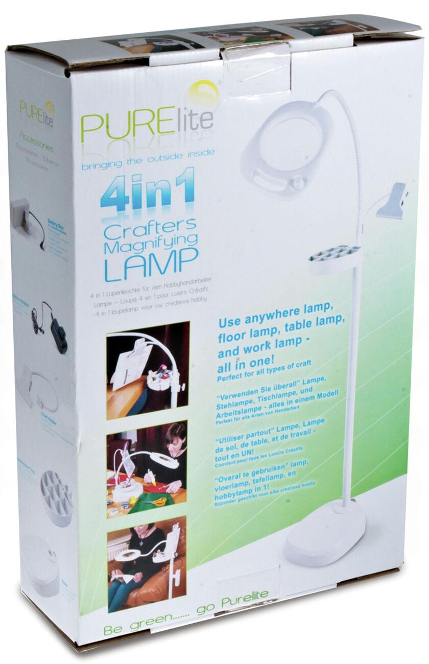 Purelite quatre dans d'agrandisseHommes un Crafters Lampe d'agrandisseHommes dans t a0a6fc
