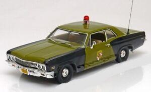 Chevrolet Chevy Biscayne Police de l'État du Maryland 1966 Ertl Amm1030 1/18 1:18
