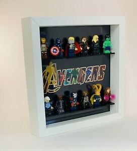 Figurine-Display-Cadre-LEGO-Marvel-avengers-version-figures-invisible-Gamme