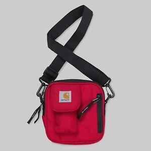 Carhartt-Essentials-Bag-Small-Cardinal-Rot-Umhaengetasche-I006285-Neu