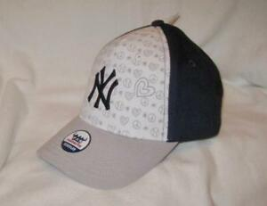 MLB TODDLER SIZE GIRLS NEW YORK YANKEES ADJUSTABLE HAT~CAP~CHILD ... bbc117a1cefa