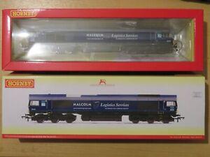 ***NEW*** DCC SOUND Hornby R3886TTS Class 66 66405 Malcolm Logistics OO Gauge