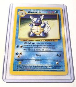 Wartortle-Base-Set-42-102-poco-frecuentes-tarjeta-de-pokemon-edicion-ilimitada-casi-Nuevo