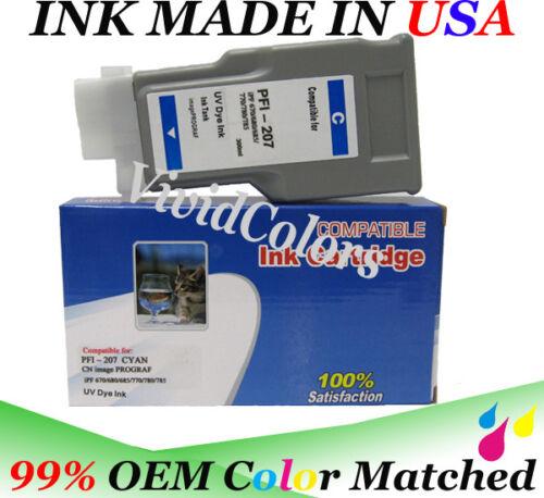 VC 300ml ink tank PFI207 Cyan for ink plotter Canon IPF685