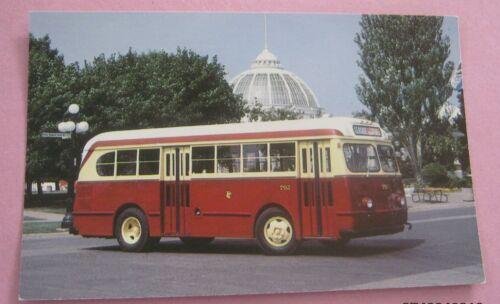 Ex Kitchener PUC TTC Ford Bus No 792 Bus Postcard