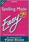 Spelling Made Easy: Level 3 Textbook by Violet Brand (Paperback, 1984)