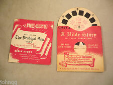 View-Master Reel CH-55B, The Prodigal Son, Bible Story, Single Reel