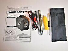 Predator 2000 Watt Inverter Generator Tool Kit 12v Charging Cable Manual Oem