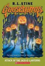 Goosebumps #48: Attack of the Jack-O'-Lanterns by R L Stine, R.L. Stine, Good Bo