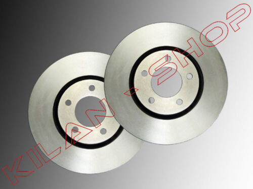 2 disques de frein avant Chrysler Voyager RG 2001-2007 302 mm ø