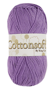 KING-COLE-COTTONSOFT-DK-Various-Colours