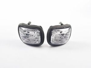 Front Turn Signals For Lens Honda GL1800 Goldwing 2001-2010 Smoke U1