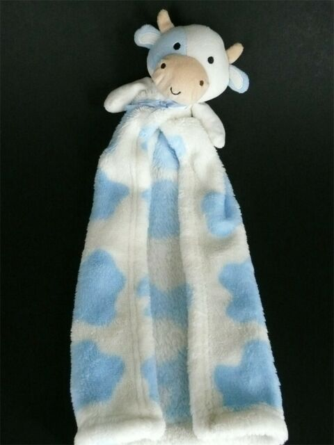 Cutie Pie Black White Cow My 1st First Buddy Plush Security Blanket Toy For Sale Online Ebay