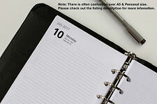 A5 Refills 2019 - 2020. Week View, Day per Page, 2 Days per Page. (Fits Filofax)