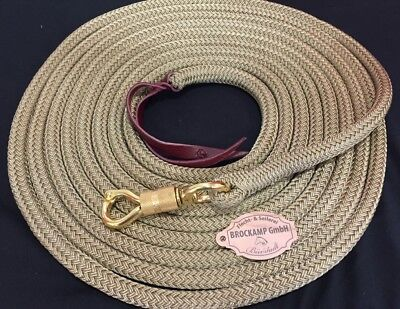 "Brockamp Rope Lavoro Corda Beige 7m & Interruttore Moschettone Profiqualtät Ridershorsestore-re"" Data-mtsrclang=""it-it"" Href=""#"" Onclick=""return False;"">"