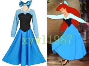 44f9d6bc9fd Image is loading Cartoon-The-Little-Mermaid-Ariel-Mermaid-Princess-Beauty-
