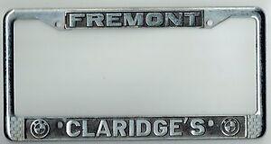 Super Rare Fremont California Claridge S Bmw Vintage Dealer License